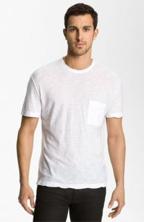 James Perse Classic Crewneck Pocket T Shirt