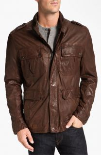 Andrew Marc Warrant Leather Jacket