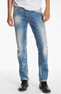 Dsquared2 Slim Fit Jeans (Bleach Blue)