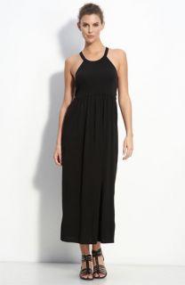 Eileen Fisher Racerback Silk Maxi Dress