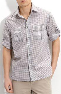 Billy Reid Scout Roll Sleeve Shirt