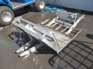 CLUB CAR DS IQ Frame ELECTRIC Golf Cart aluminum Chassis 2006 06 48v