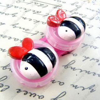 A0108 UPICK Animal Styles Contact Lens Case Lovely Eye Care Box