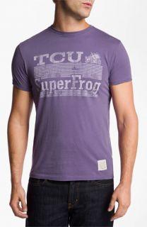 The Original Retro Brand TCU Horned Frogs   Superfrog T Shirt