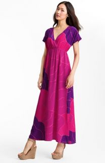 Trina Turk Amrita Print Silk Maxi Dress