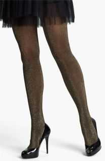 Commando Gold Disco Ribbed Tights