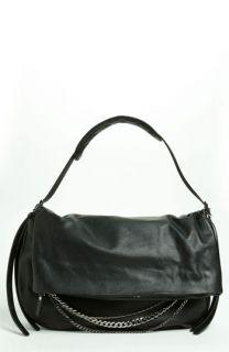 Jimmy Choo Biker   Large Leather Shoulder Bag