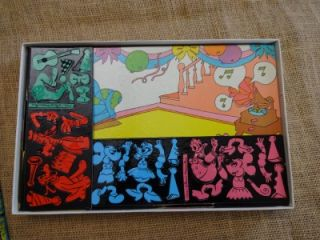Vtg 1960s Colorforms Walt Disneys Mickey Mouse Cartoon Kit Play Set