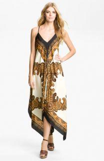 MICHAEL Michael Kors Scarf Print Maxi Dress