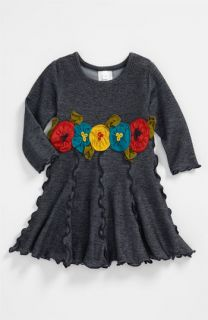 Love U Lots Ruffle Trimmed Dress (Infant)