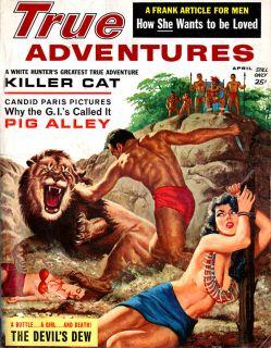 True Adventures BONNIE & CLYDE Elke Sommer DEMON MAN EATER Devils Dew