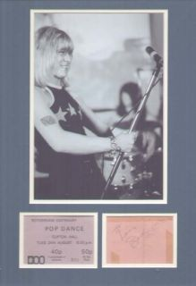 Brian Connolly The Sweet Signed Autograph