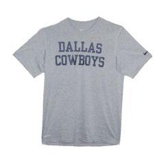 dallas cowboys nike legend gray dri fit coaches t shirt description