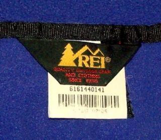 Mens Rei Zip Front Fleece Jacket Size Large Polyester