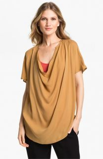Vince Cowl Neck Silk Blouse