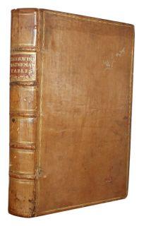 1742 Isaac Newton Wallis Halley Mathematics Science Fine Binding