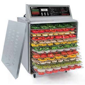 14 Stainless Steel Food Dehydrator Digital Commercial 14 Trays 3 4