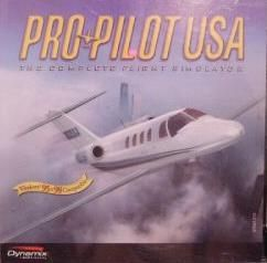 Pro Pilot USA PC CD Civilian Aircraft Simulation Game