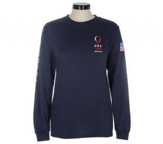Team USA Chinese Dragon Olympic Long Sleeve T shirt —