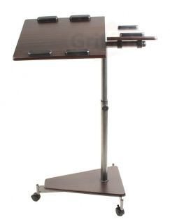 Laptop Computer PC Rolling Table Stand AV Cart Portable Mobile w
