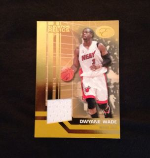 2007 Dwayne Wade Patch Jersey Numbered 1 19 Miami Heat