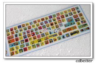 New Spongebob Notebook Desktop Laptop Keyboard Stickers