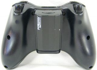 Microsoft Xbox 360 Wireless Controller Glossy Black Working Condition