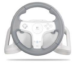 New Logitech Wii Speed Force Wireless Racing Steering Wheel 941 000040