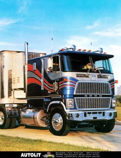 1985 Ford CL9000 COE Truck Factory Photo