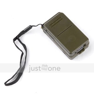 Multi Function Outdoor Camping Hiking Survival Tool Compass Whistle 10