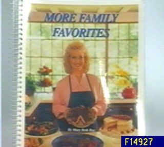 More Family Favorites Cookbook by Mary Beth Roe —