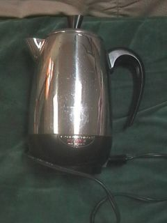 Fully Automatic Electric Percolator w Cord Coffee Pot 138B