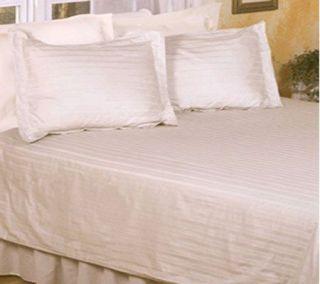 250 TC Dobby Stripe Full/Queen Duvet / Comforter Cover & Shams
