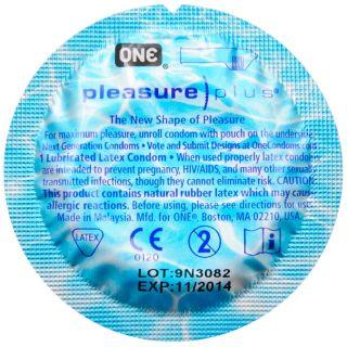 Pleasure Plus Premium Ribbed Silicone Based Lubricated Latex Condoms