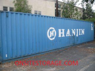 40 Dry Van Steel Storage Container Shipping Cargo Conex Seabox
