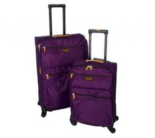 Lucas 27 and 21 Spinner Expandable Luggage Set —
