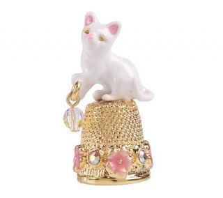 Kirks Folly Twinkle Cat Thimble —