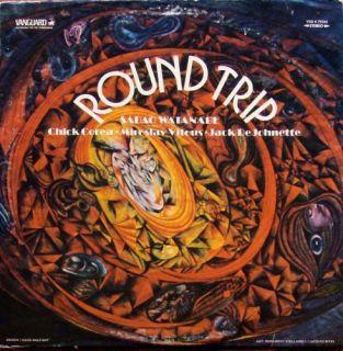 Sadao Watanabe Round Trip Vanguard LP Corea DeJohnette