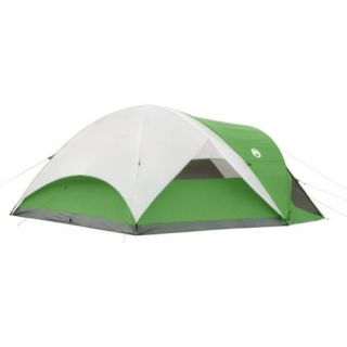 new coleman camping evanston 6 person screened tent
