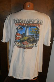 size 2XL Harley Davidson Motorcycles Short sleeve T shirt Coos Bay OR