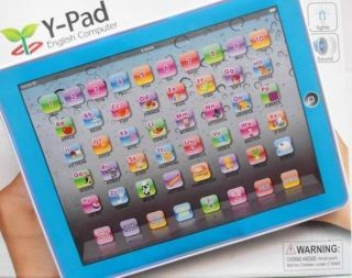 Children Y Pad English Learning Computer Touch Screen Maths Letters