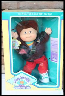 Vintage Designer Line Cabbage Patch Kid Boy Ellery Coleridge