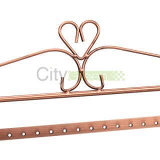 Large Copper 128 Earrings Fashion Jewelry Holder Jewellery Display