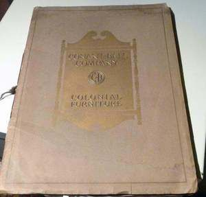 1930 Conant Ball Colonial Furniture Catalog Price List