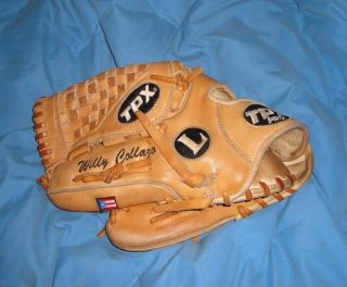 New York Mets Willy Collazo Game Used Worn MLB Fielders Custom