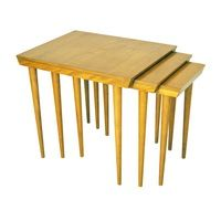 Conant Ball Russel Modernmates Nesting Birch Tables Price REDUCED