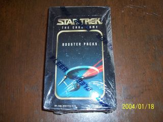 Fleer Star Trek Collectible Card Game CCG Sealed Box 36 Packs