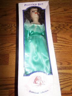 COLLECTIBLE PORCELAIN DOLL GOLDENVALE COLLECTION COLLECTIBLE VINTAGE