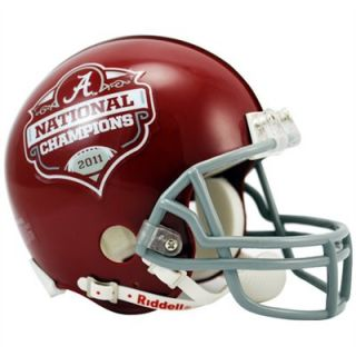 ALABAMA 2011 NATIONAL CHAMPIONS SPECIAL RIDDELL MINI FOOTBALL HELMET