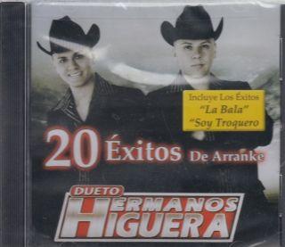 Higuera CD New La Bala Soy Troquero Y mas 20 Corridos Arranque